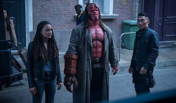 "Kadr z filmu ""Hellboy"""