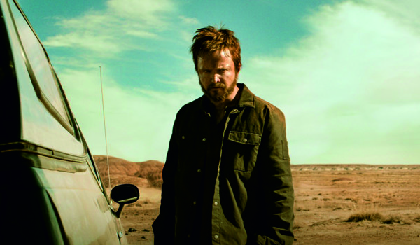 "Kadr z filmu El Camino: Film ""Breaking Bad"""