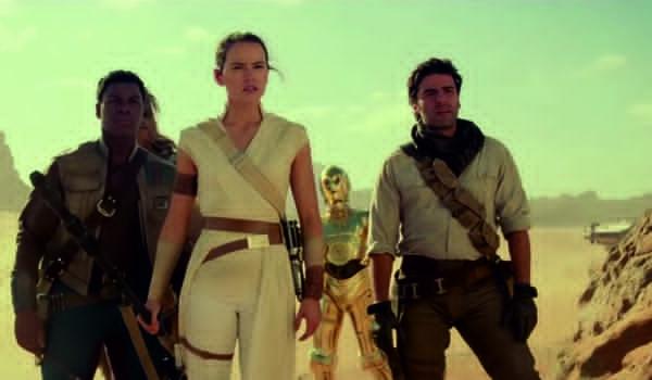 """Kadr z filmu """"Gwiezdne wojny: Skywalker. Odrodzenie"""""""