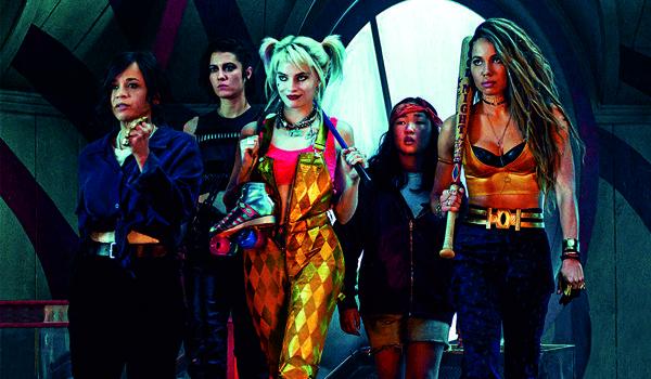 """Kadr z filmu """"Ptaki Nocy (i fantastyczna emancypacja pewnej Harley Quinn)"""""""