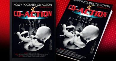 Pierwszy numer CD-Action z nowym wydawcą (i starym DaeLem)