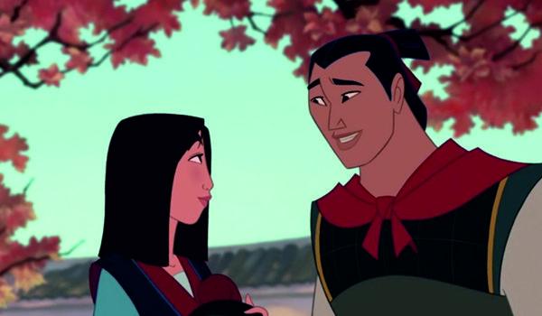 """Kadr z filmu """"Mulan"""" (1998)"""