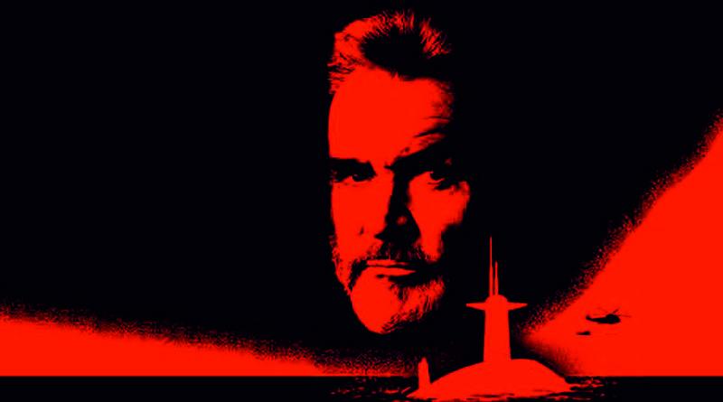 """Kadr z filmu """"Polowanie na Czerwony Październik"""""""