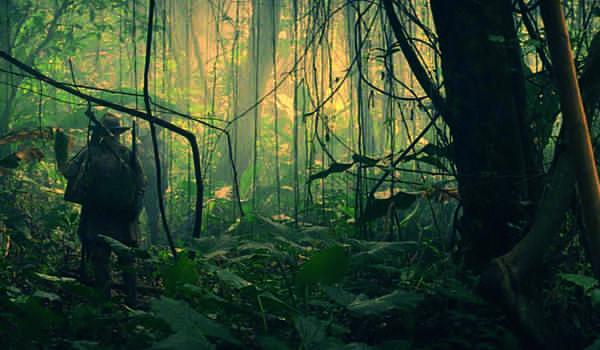 """Kadr z filmu """"Zaginione miasto Z"""""""