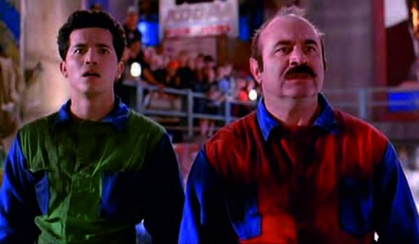 """Kadr z filmu """"Super Mario Bros."""""""