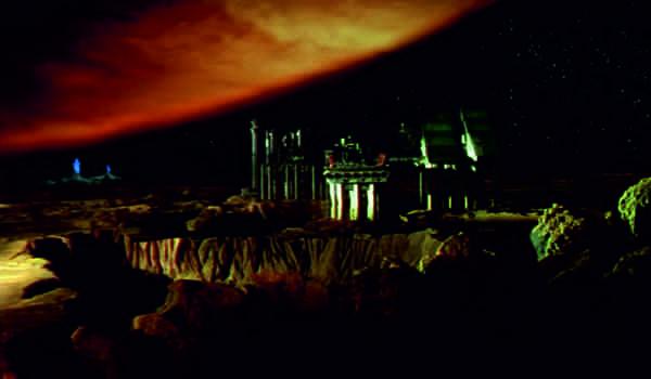 """Kadr z filmu """"Odległy ląd"""""""
