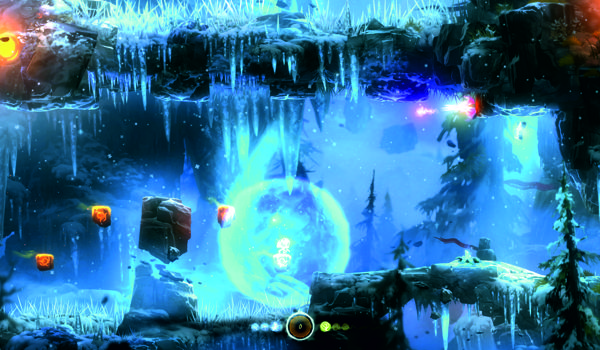 """Screen z gry """" Ori and the Blind Forest: Definitive Edition"""""""